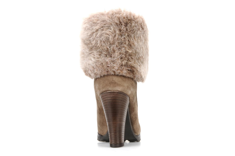 Bottines et boots Eden Cincilla Beige vue droite