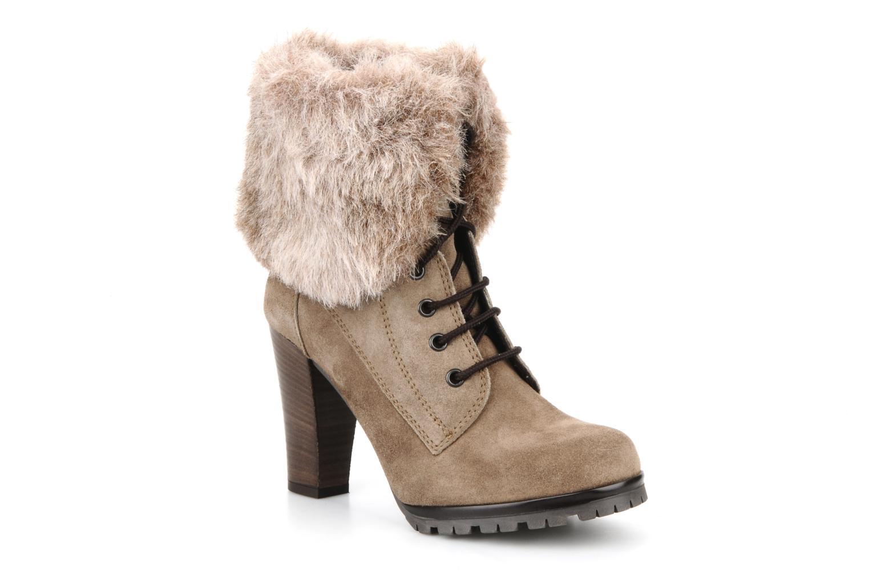 Bottines et boots Eden Cincilla Beige vue détail/paire
