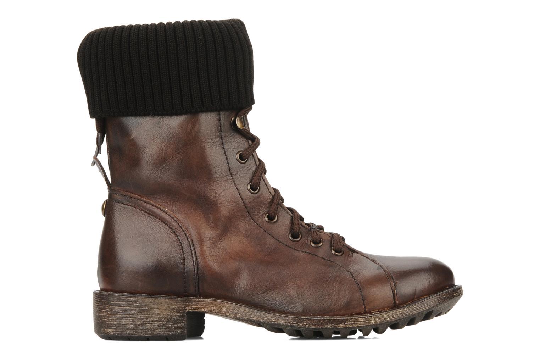 Boots en enkellaarsjes Eden Nems Bruin achterkant