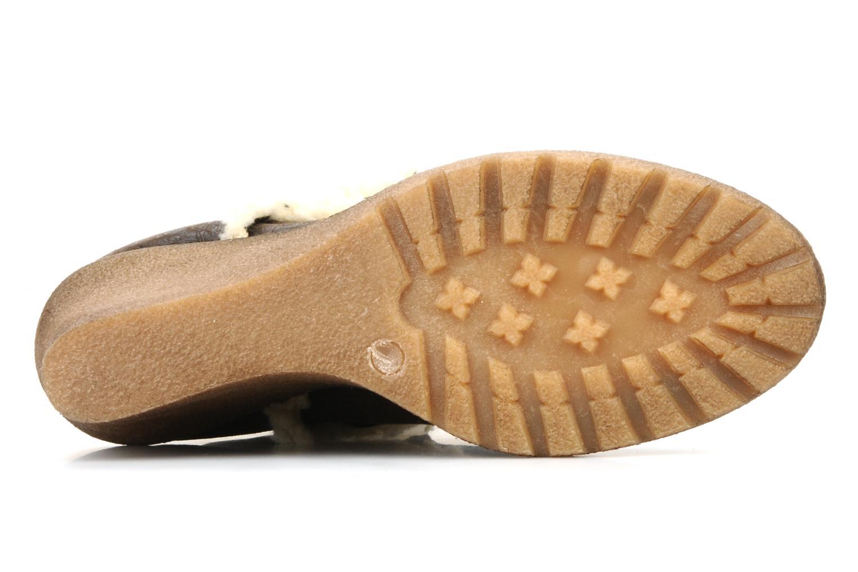 Boots en enkellaarsjes Eden Monta Bruin boven