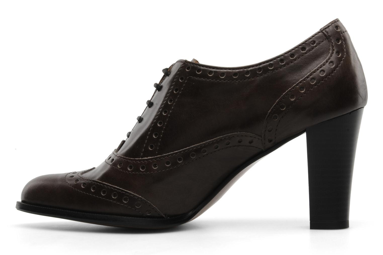Chaussures à lacets Perlato Vitamine Marron vue face