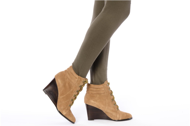 Stiefeletten & Boots Georgia Rose Huny beige ansicht von unten / tasche getragen