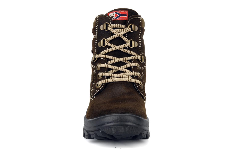 Bottines et boots Rose & Martin Cupidon Marron vue portées chaussures