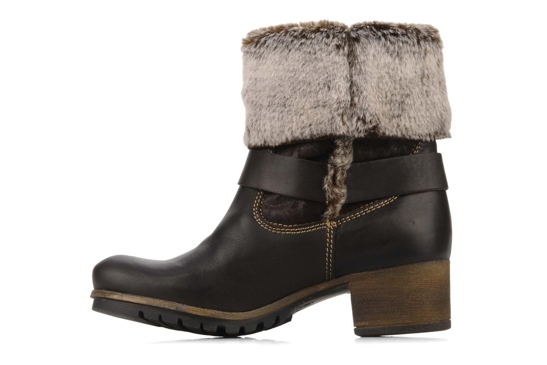 Bottines et boots Tamaris Oprah Marron vue face