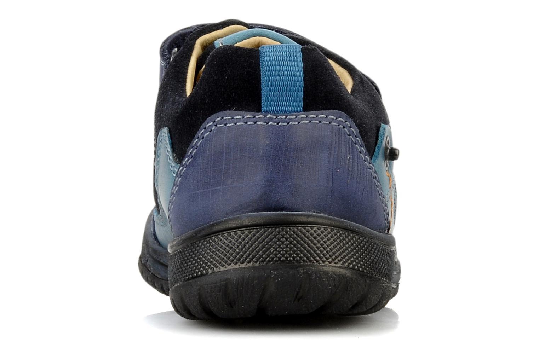 Chaussures à scratch Start Rite Trail Bleu vue droite
