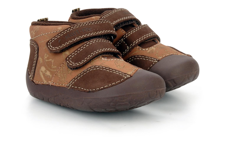 Chaussures à scratch Start Rite Fossil Marron vue 3/4