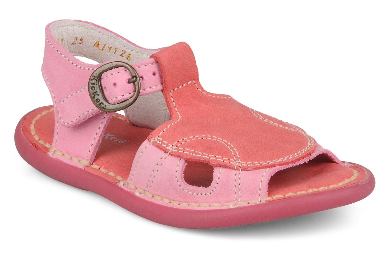 Sandales et nu-pieds Kickers Mitsy Rose vue détail/paire