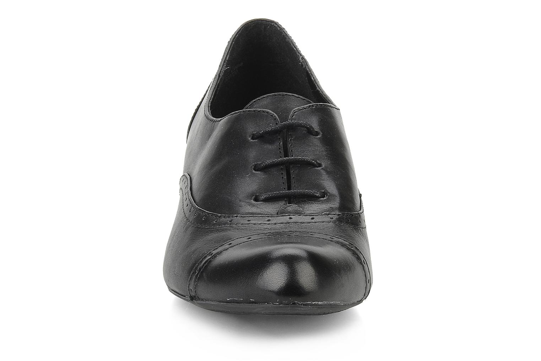 Chaussures à lacets Clarks Colour wheel Noir vue portées chaussures