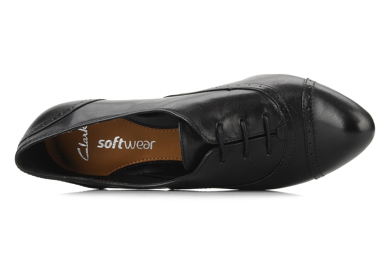 Chaussures à lacets Clarks Colour wheel Noir vue gauche