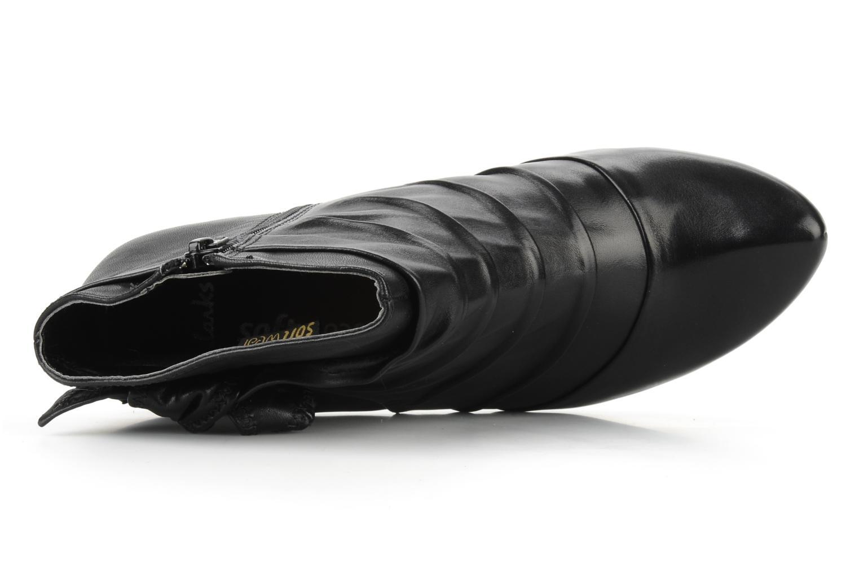 Boots en enkellaarsjes Clarks Krista azure Zwart links