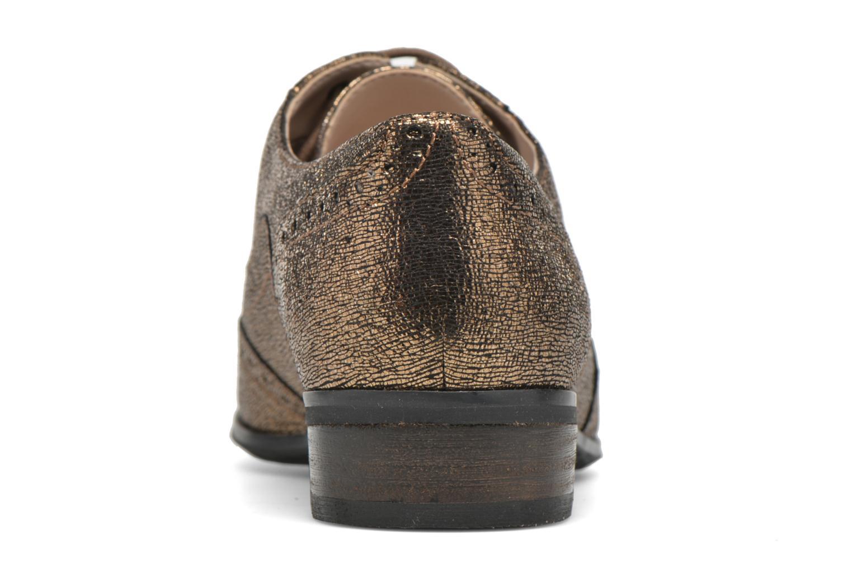 Schnürschuhe Clarks Hamble Oak gold/bronze ansicht von rechts