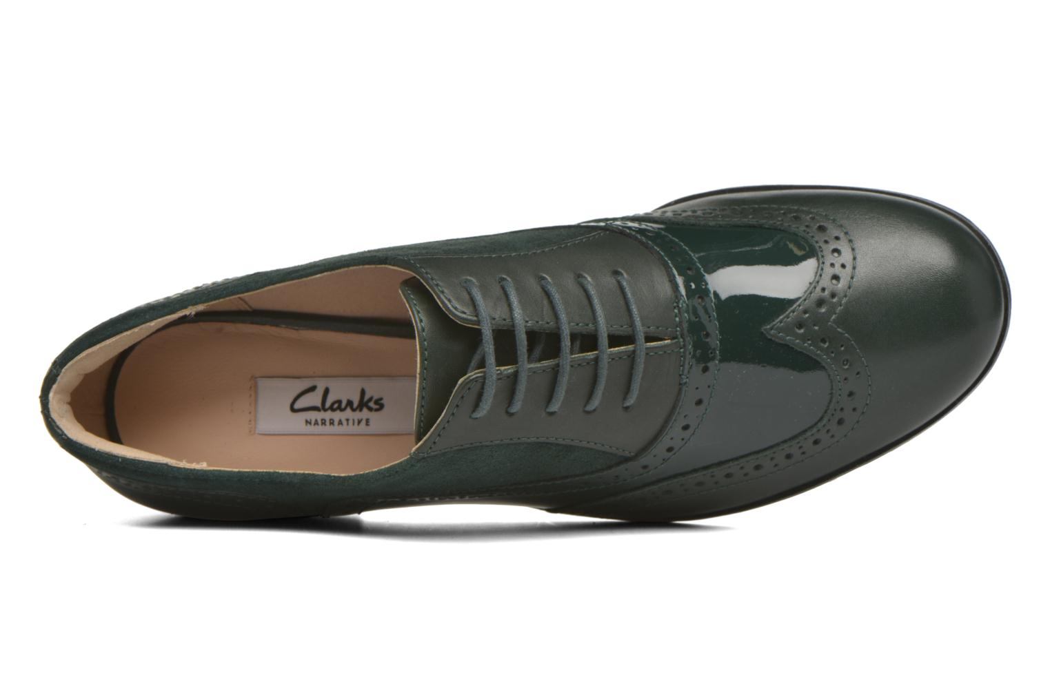 Veterschoenen Clarks Hamble oak Groen links