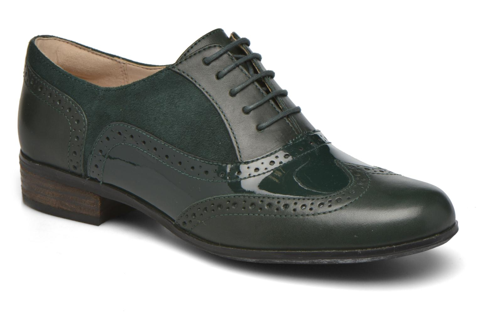Veterschoenen Clarks Hamble oak Groen detail