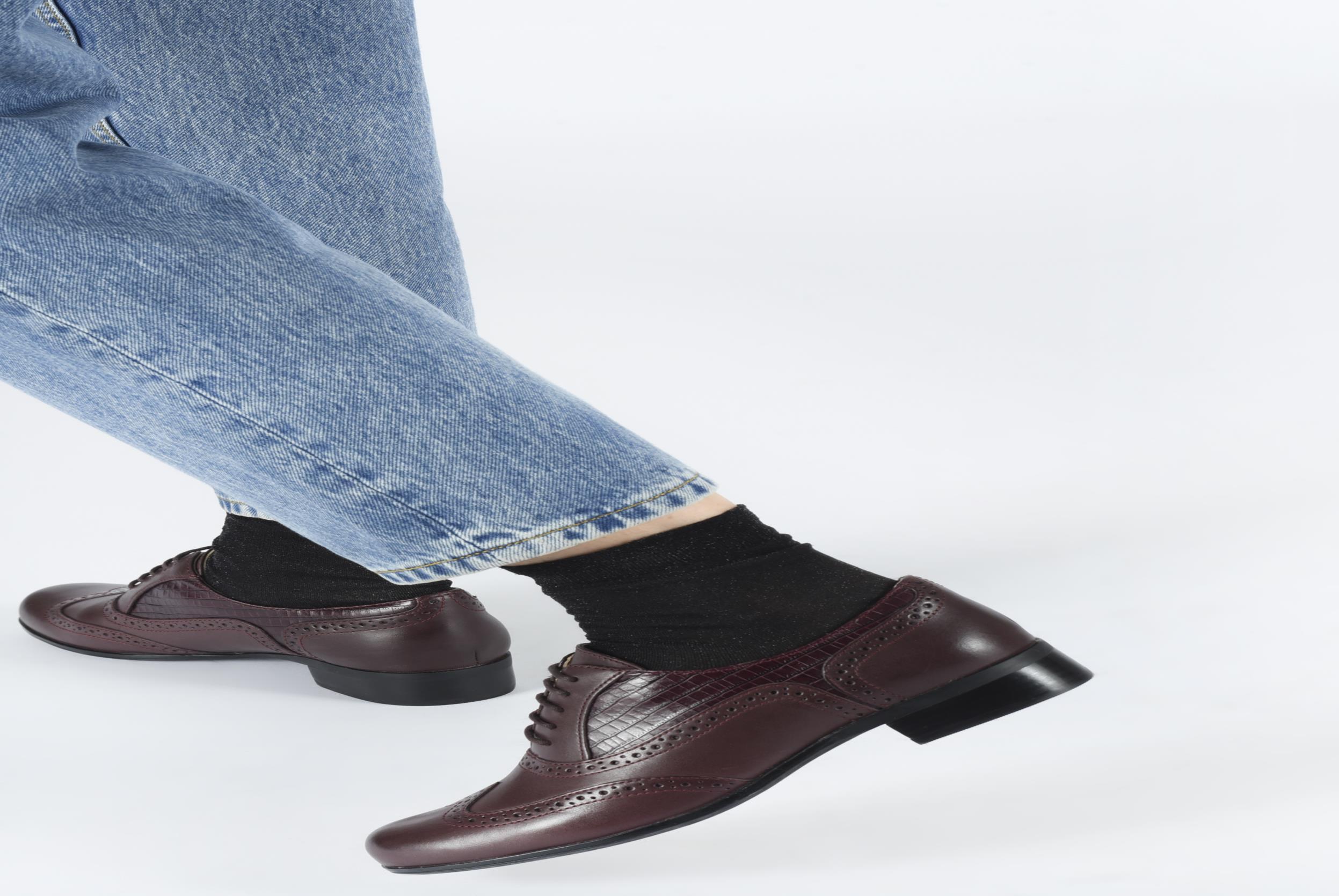 Zapatos con cordones Clarks Hamble Oak Marrón vista de abajo