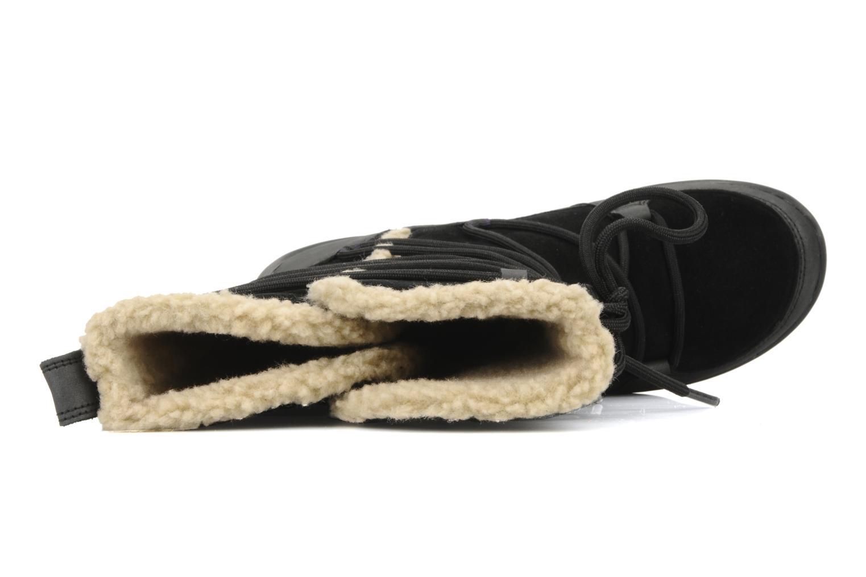 Boots en enkellaarsjes Clarks Nemo thrillgtx Zwart links