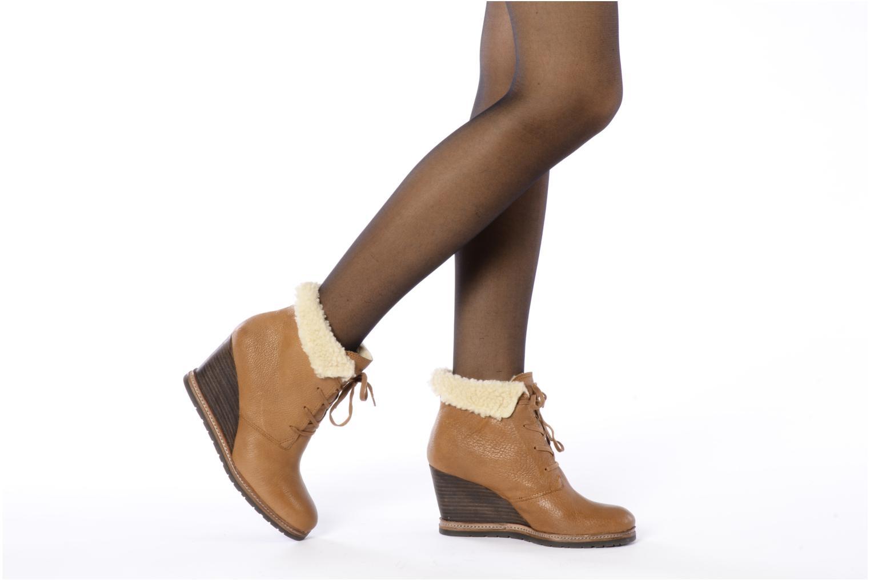 Bottines et boots Marc O'Polo Julietta Marron vue bas / vue portée sac