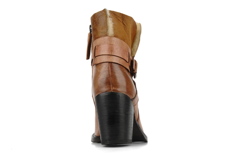 Bottines et boots Elizabeth Stuart Luz 682 Beige vue droite