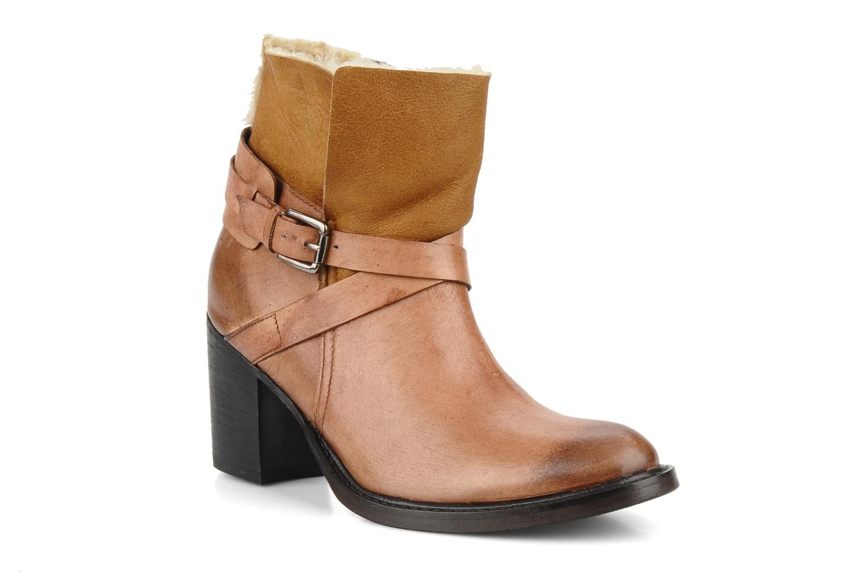 Bottines et boots Elizabeth Stuart Luz 682 Beige vue détail/paire
