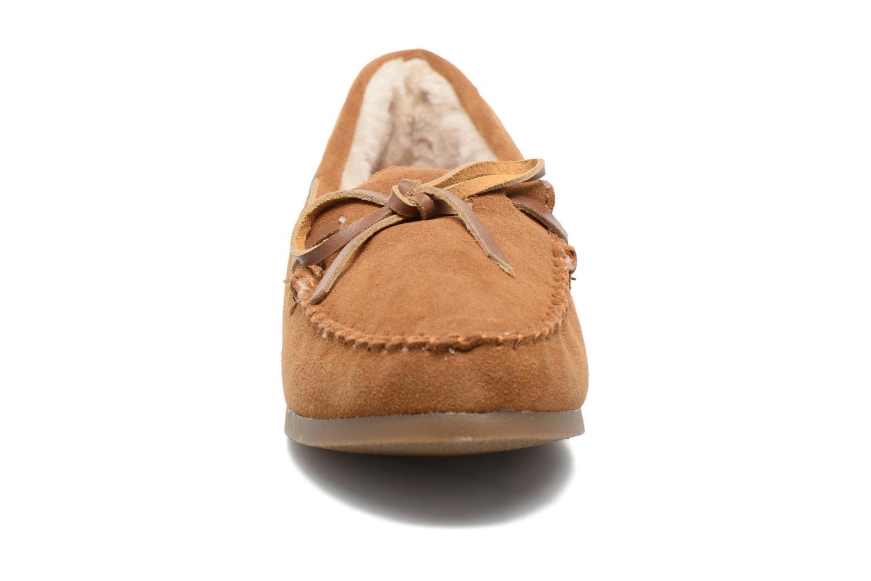 Mocassins Les Tropéziennes par M Belarbi Galway Marron vue portées chaussures