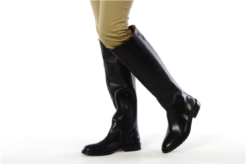 Stiefel Melvin & Hamilton Gina 6 schwarz ansicht von unten / tasche getragen