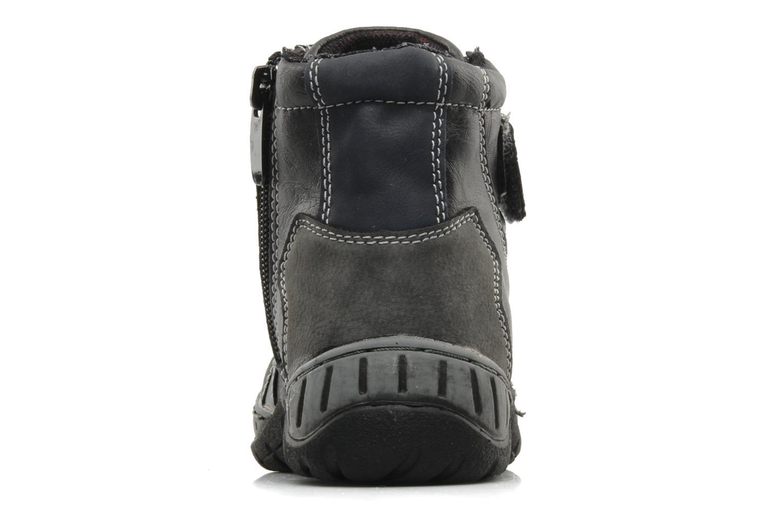 Bottines et boots I Love Shoes Alpiniste Noir vue droite