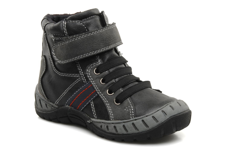 Bottines et boots I Love Shoes Alpiniste Noir vue détail/paire