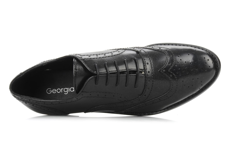 Chaussures à lacets Georgia Rose Dodda Noir vue gauche