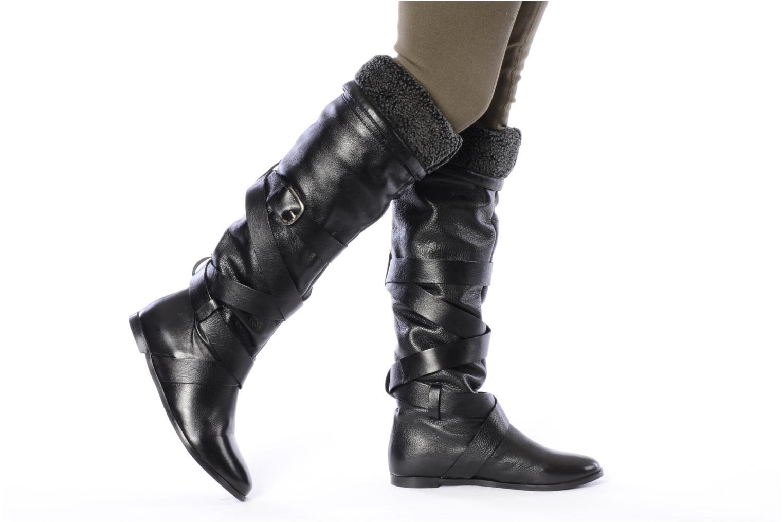 Laarzen Georgia Rose Merika Zwart onder