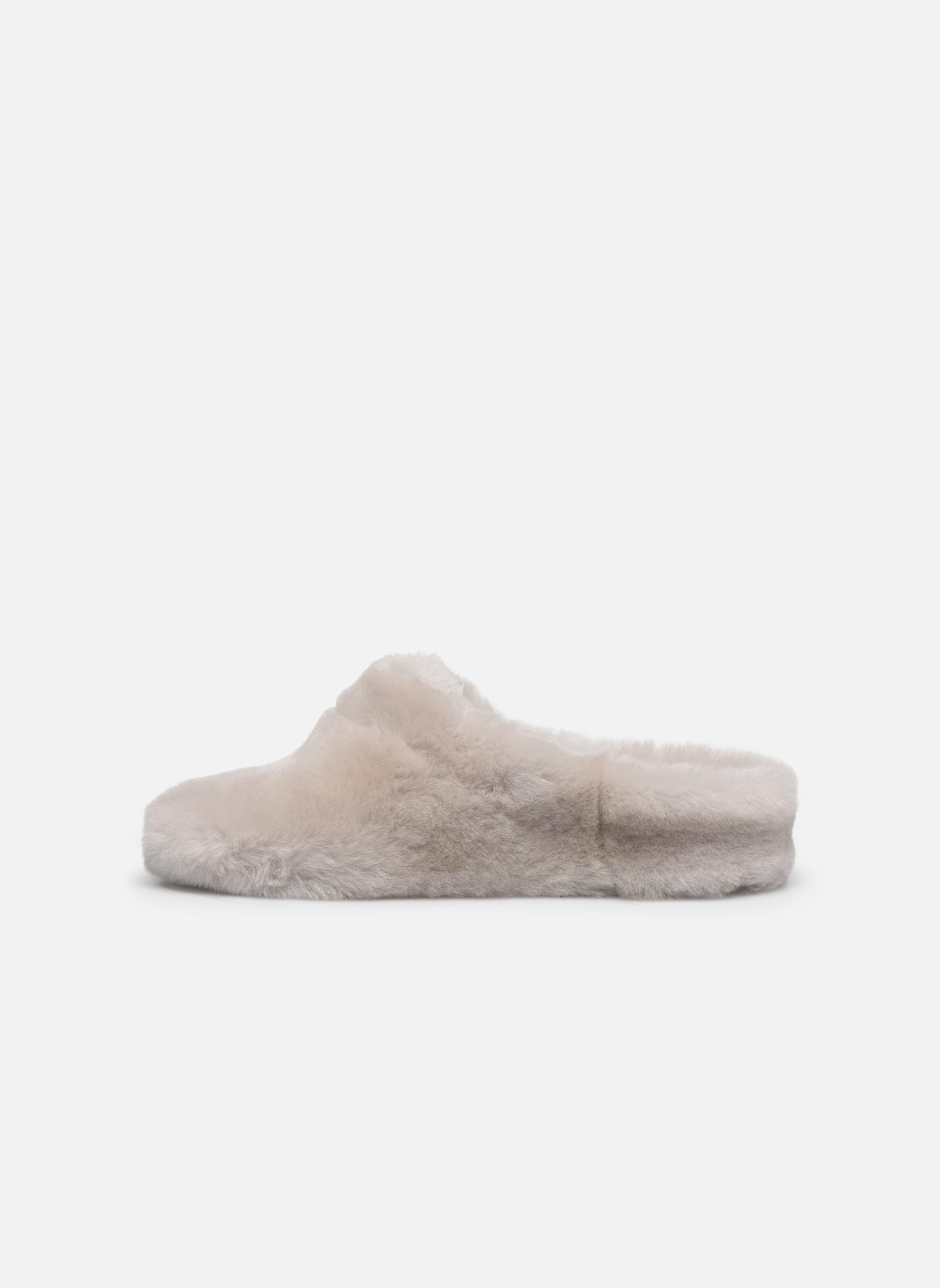 Pantoffels Giesswein Gerolding Wit voorkant