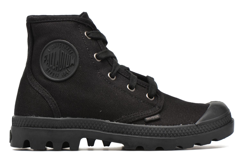 Sneaker Palladium Us pampa hi w schwarz ansicht von hinten