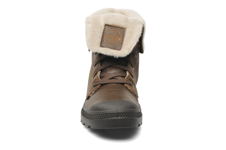 Bottines et boots Palladium Baggy ls w Marron vue portées chaussures