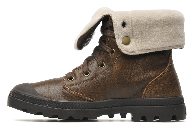 Bottines et boots Palladium Baggy ls w Marron vue face