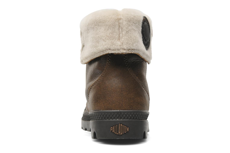 Bottines et boots Palladium Baggy ls w Marron vue droite