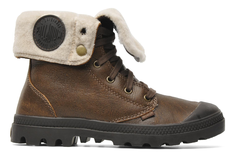 Bottines et boots Palladium Baggy ls w Marron vue derrière
