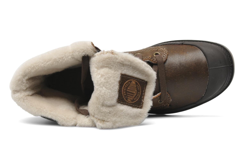 Bottines et boots Palladium Baggy ls w Marron vue gauche