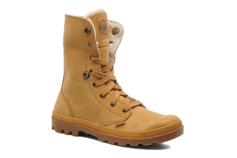 Boots en enkellaarsjes Palladium Baggy ls w Beige 3/4'