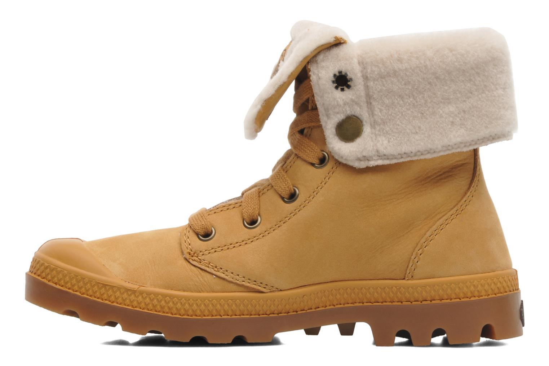 Boots en enkellaarsjes Palladium Baggy ls w Beige voorkant