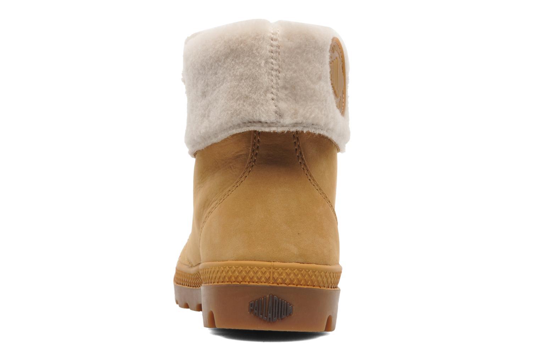 Boots en enkellaarsjes Palladium Baggy ls w Beige rechts