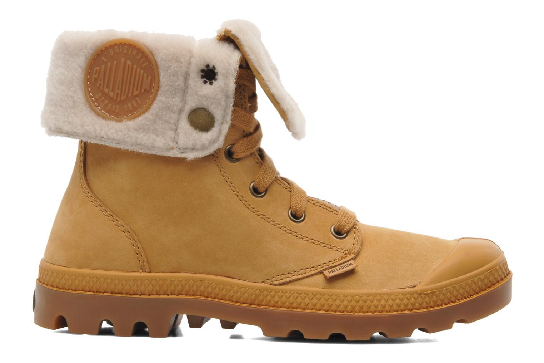Boots en enkellaarsjes Palladium Baggy ls w Beige achterkant