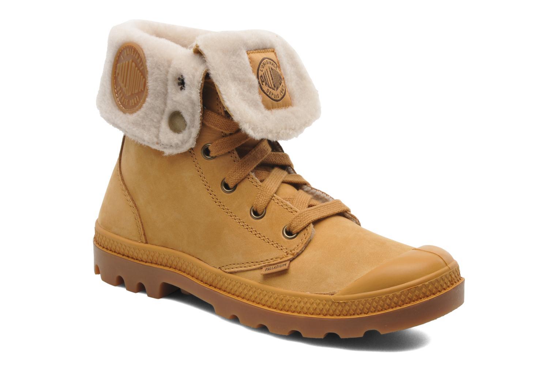 Boots en enkellaarsjes Palladium Baggy ls w Beige detail