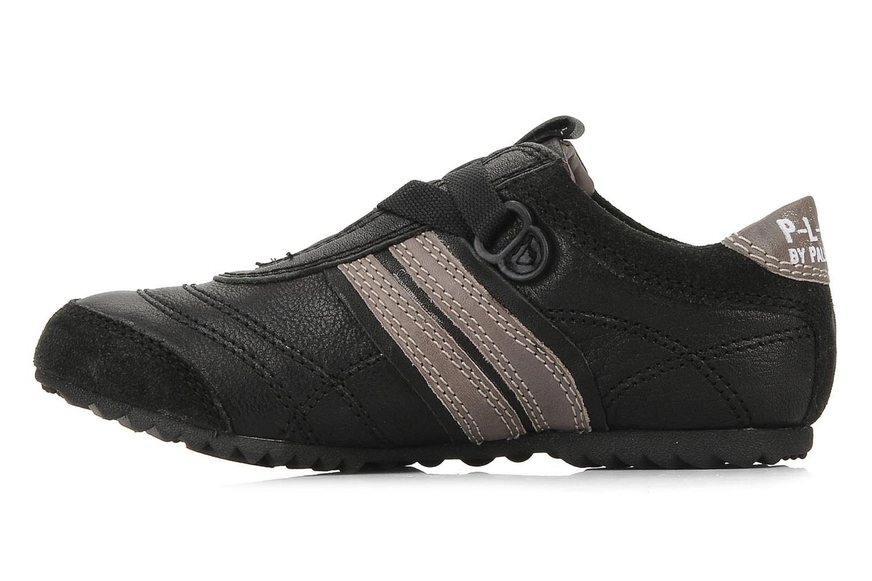 Sneakers Palladium P-L-D-M Racket kid cash Zwart voorkant