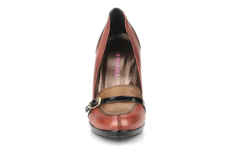 High heels San Marina Moracee Red model view
