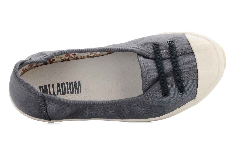 Ballerinas Palladium Marion cvs blau ansicht von links