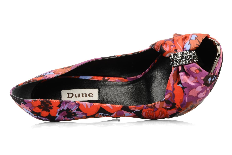Pumps Dune London Viva mehrfarbig ansicht von links