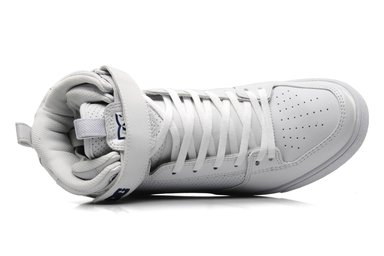 Scarpe sportive DC Shoes Royal Bianco immagine sinistra