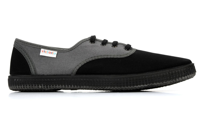 Sneaker Victoria Victoria bicolore m grau ansicht von hinten