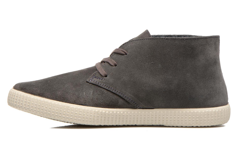 Lace-up shoes Victoria Safari serraje M Grey front view