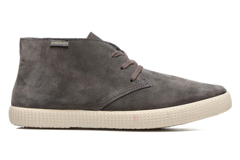 Lace-up shoes Victoria Safari serraje M Grey back view