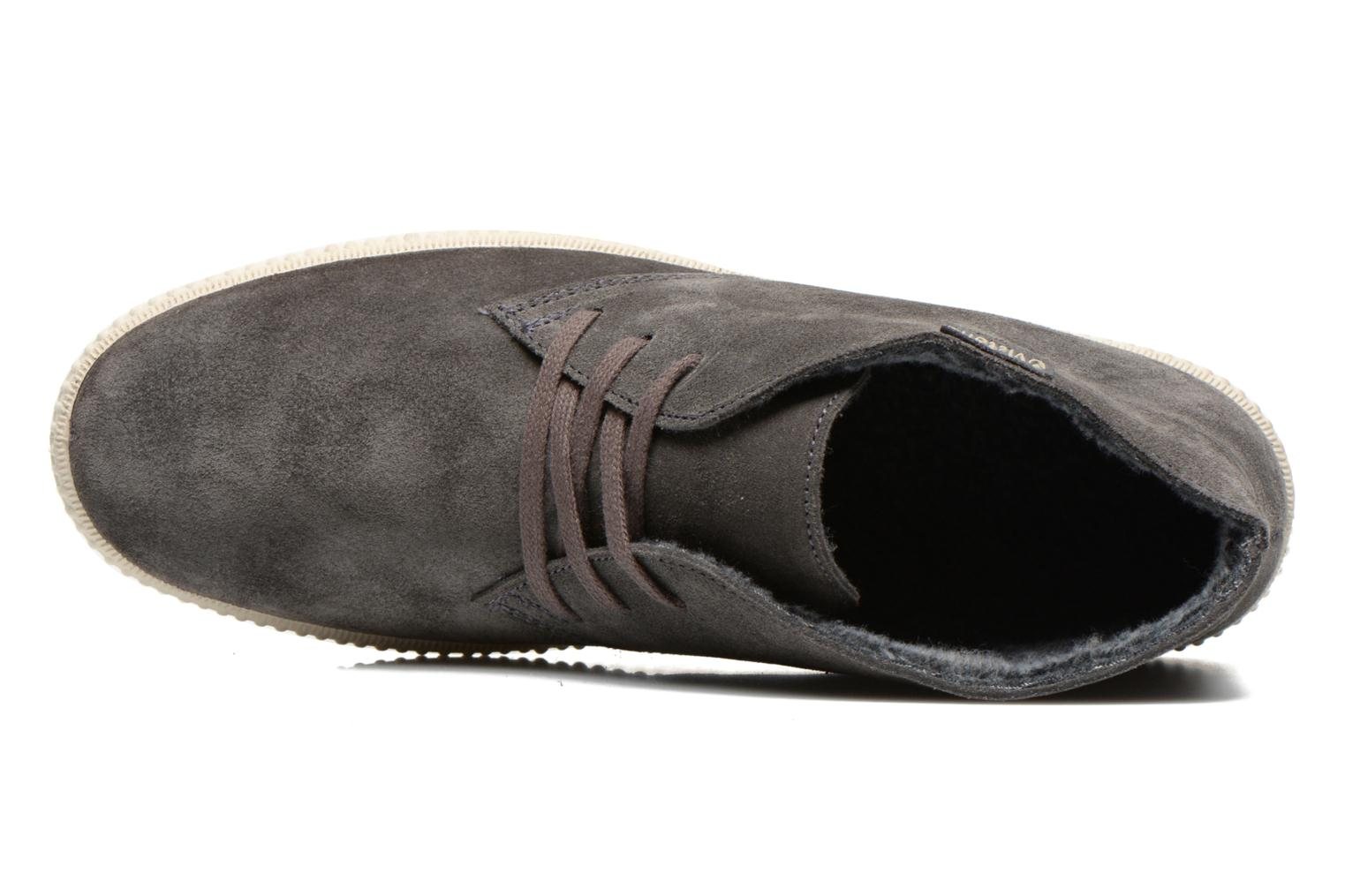 Lace-up shoes Victoria Safari serraje M Grey view from the left