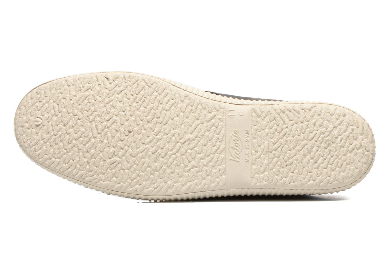 Chaussures à lacets Victoria Safari serraje M Gris vue haut